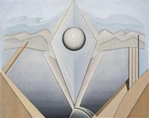 Abstract Painting #98 - Lawren Harris