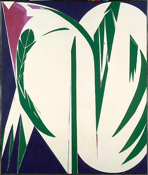 Rising Green, 1972 - Lee Krasner