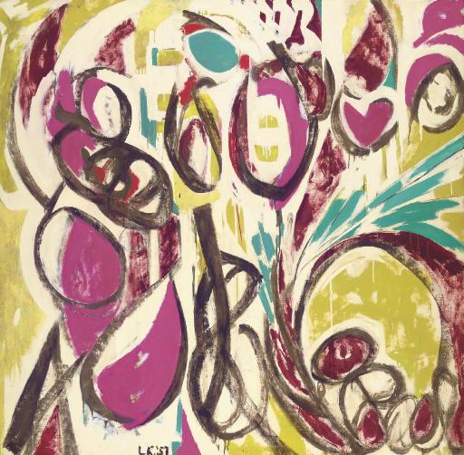Thaw, 1957 - Lee Krasner