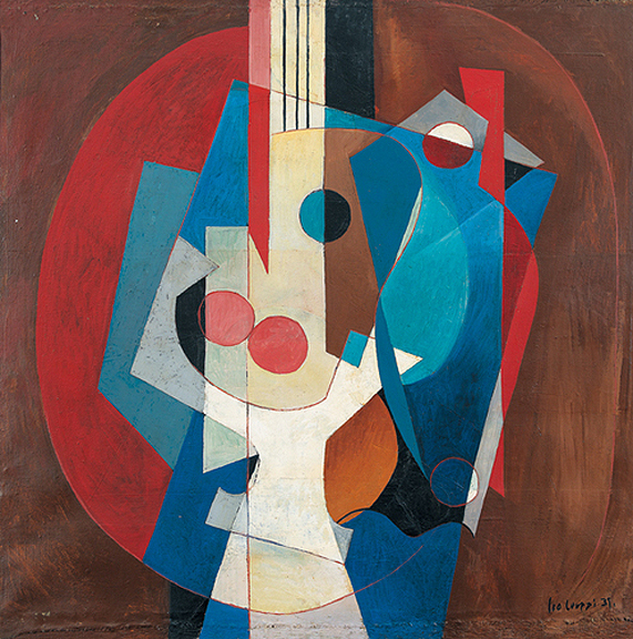 Composition with Guitar - Leo Leuppi