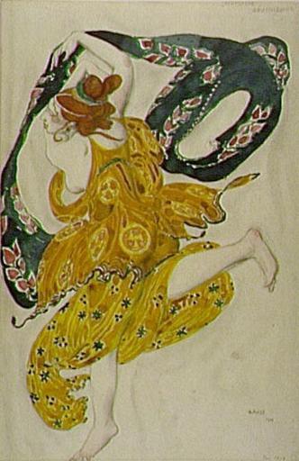 """""""Narcisse""""-Boeotian, 1911 - Leon Bakst"""