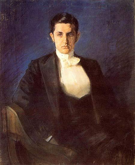 Dmitry Filosof portrait, 1897 - Leon Bakst