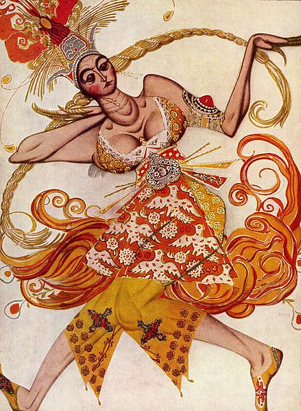 Costume design for The Firebird - Leon Bakst