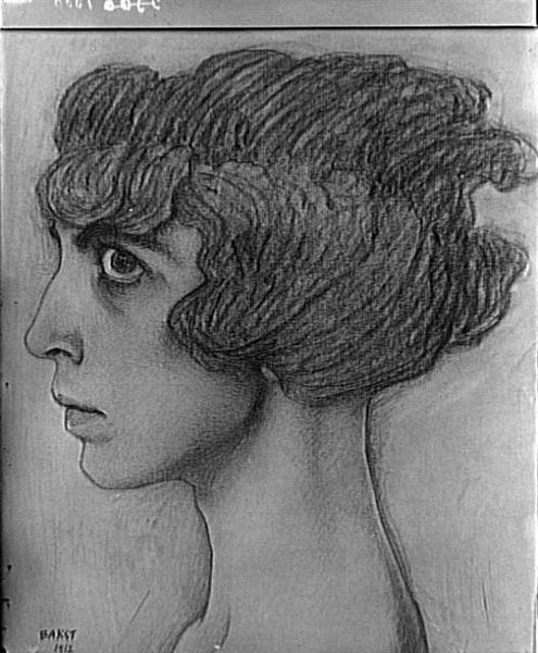 Portraitof theMarchesaCasati, 1912 - Leon Bakst