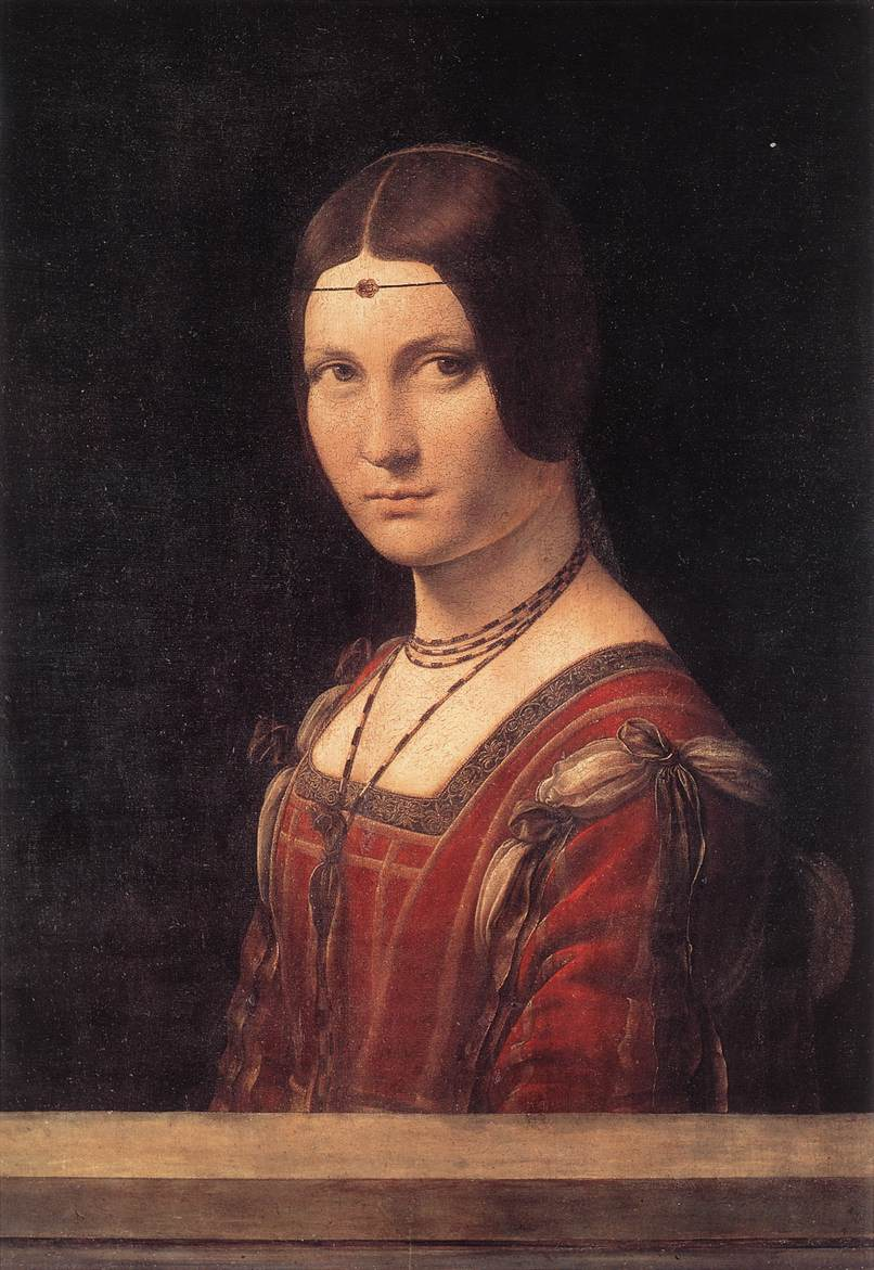 Portrait of an Unknown Woman (La Belle Ferroniere), 1490