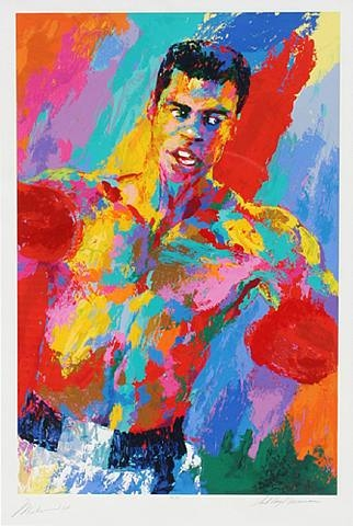 Muhammad Ali: The Athlete of the Century, 2001 - LeRoy Neiman