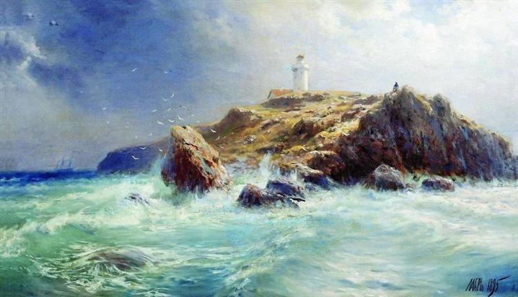 A Lighthouse, 1895 - Lev Lagorio