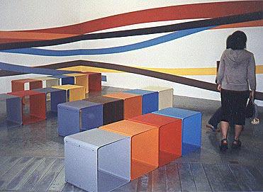Yokohama Triennale Instalation, 2001 - Liam Gillick