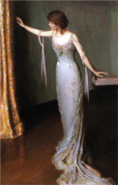 Lady in an Evening Dress, 1911 - Lilla Cabot Perry