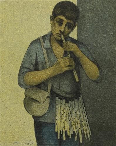 The Flute Seller - Louay Kayyali