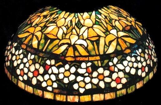 Jonquil Daffodil lampshade - Louis Comfort Tiffany