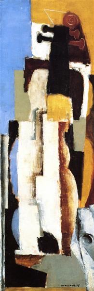 A Cello, 1921 - Louis Marcoussis