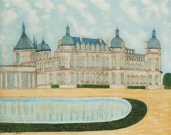 Le Château de Saint-Germain - Louis Vivin