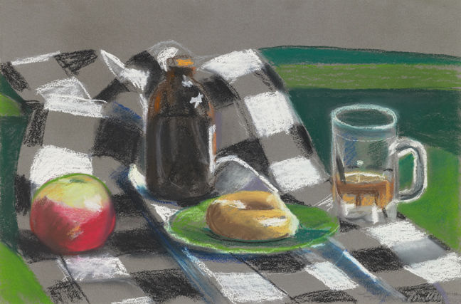 Apples, Bread and Beer, 1940 - Louisa Matthiasdottir