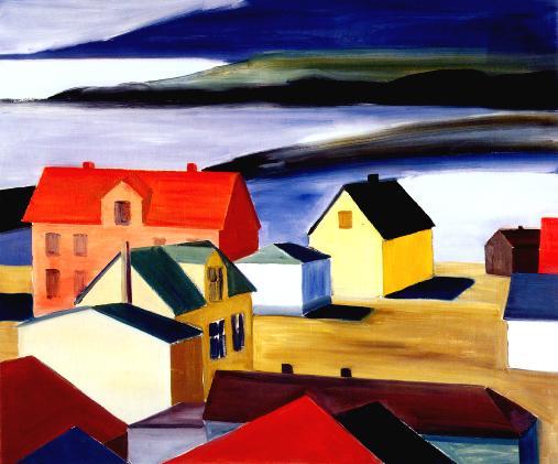 Icelandic Village - Louisa Matthiasdottir