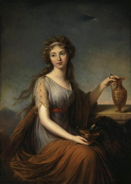 Portrait of Anna Pitt as Hebe, 1792 - Louise Elisabeth Vigee Le Brun
