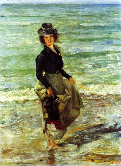 Paddel-Petermannchen, 1902 - Lovis Corinth