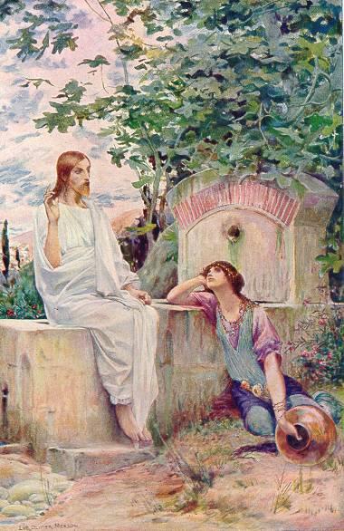 Jesus at the Well, 1910 - Люк-Олів'є Мерсон