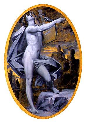Orphée  from Orphée and Eurydice, 1889 - Люк-Олів'є Мерсон