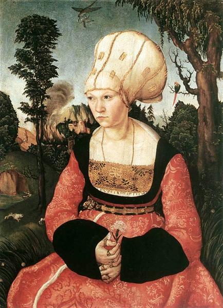 Anna Cuspinian, c.1502 - Lucas Cranach der Ältere