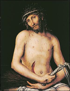Chtist as the Man of Sorrows, 1515 - Lucas Cranach the Elder
