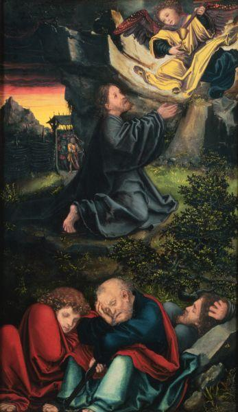 The Garden of Gethsemane, c.1518 - Lucas Cranach the Elder