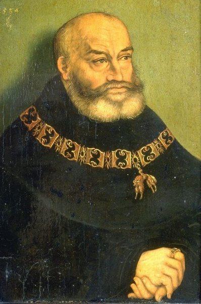 Georg der Bärtige, Duke of Saxony, c.1536 - Lucas Cranach der Ältere