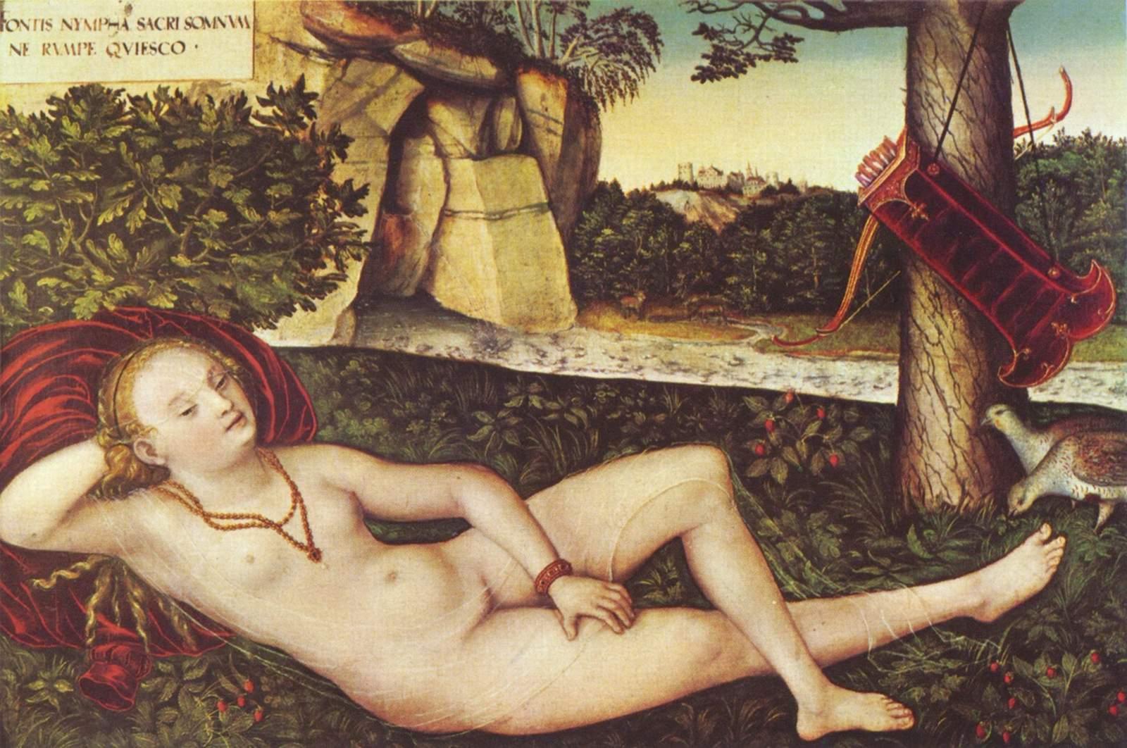 Reclining Diana c.1515 - Lucas Cranach the Elder  sc 1 st  WikiArt & Reclining Diana c.1515 - Lucas Cranach the Elder - WikiArt.org islam-shia.org