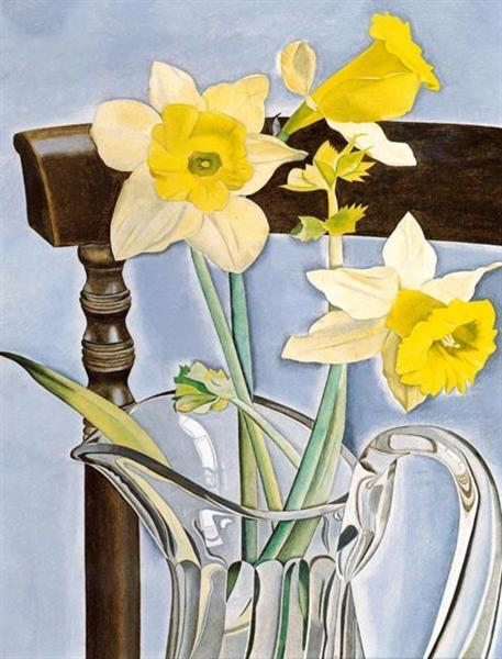 Daffodils and Celery, 1947 - 1948 - Lucian Freud