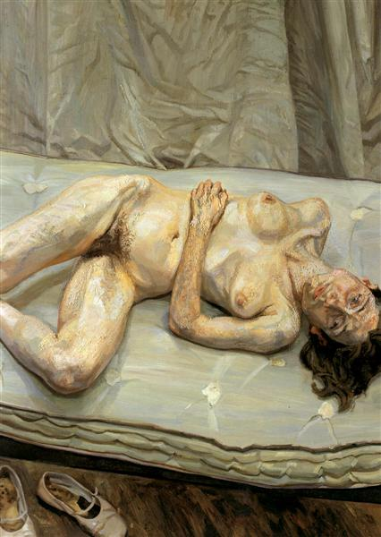 Naked Portrait, 2001 - Lucian Freud