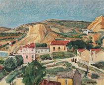 Balchik Landscape - Lucian Grigorescu