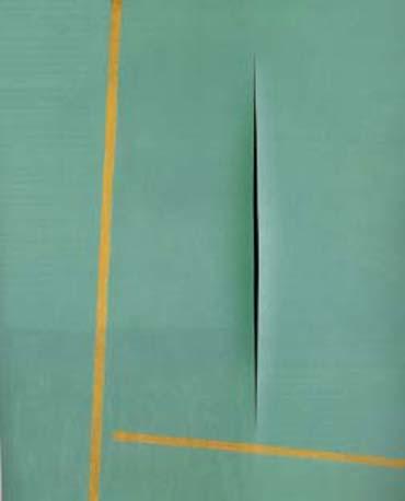 Concept Spatiale, 1964 - Лучо Фонтана