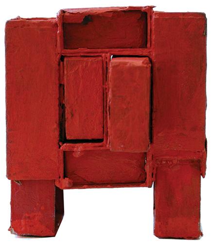 Estrutura de caixas de fósforos, 1964 - Lygia Clark