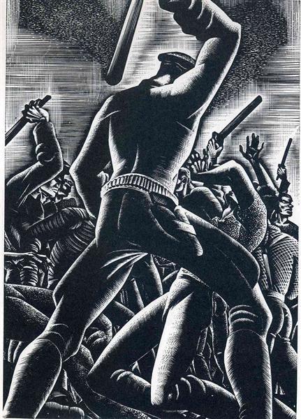 Railroaded, 1947 - Lynd Ward