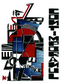 Cover Design for Contimporanul - М. Х. Максі