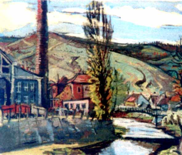 Landscape Resita, 1942 - М. Х. Максі