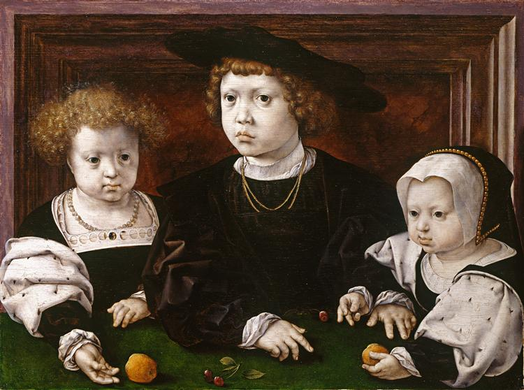 The children of King Christian II of Denmark, Norway and Sweden - Mabuse