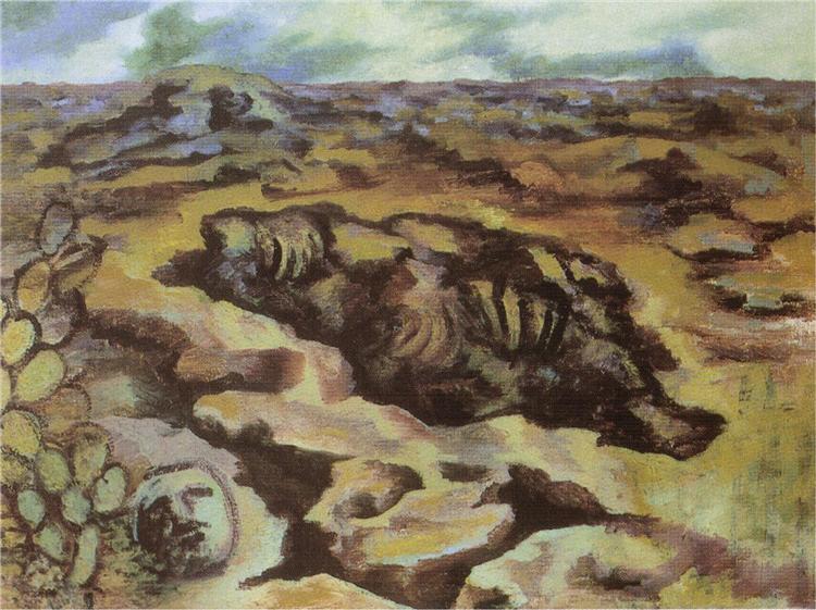Landscape, 1945 - Frida Kahlo