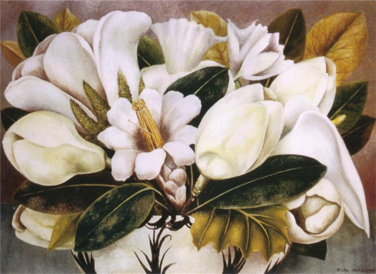 Magnolias, 1945 - Frida Kahlo
