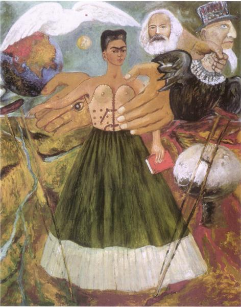 Marxism Will Give Health to the Sick, 1954 - Frida Kahlo