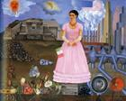 Self-Portrait Along the Boarder Line Between Mexico and the United States - Frida Kahlo