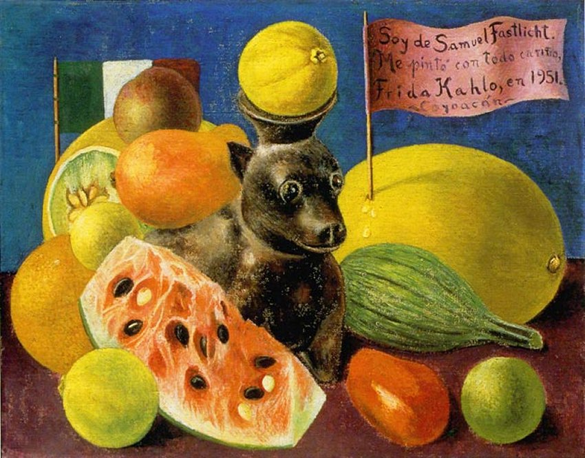 Still LifeFrida Kahlo Famous Paintings Still Life
