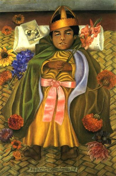 The Deceased Dimas, 1937 - Frida Kahlo