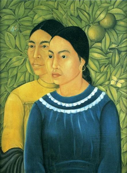 Two Women, 1929 - Frida Kahlo