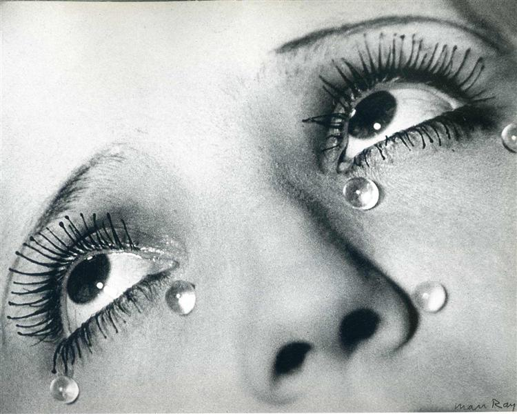 Glass tears, 1932 - Ман Рэй