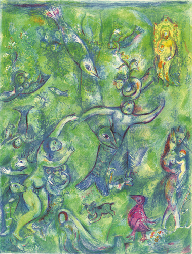 Abdullah discovered before him..., 1948 - Marc Chagall
