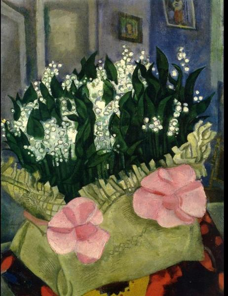 Lilies of the Valley, 1916 - Marc Chagall