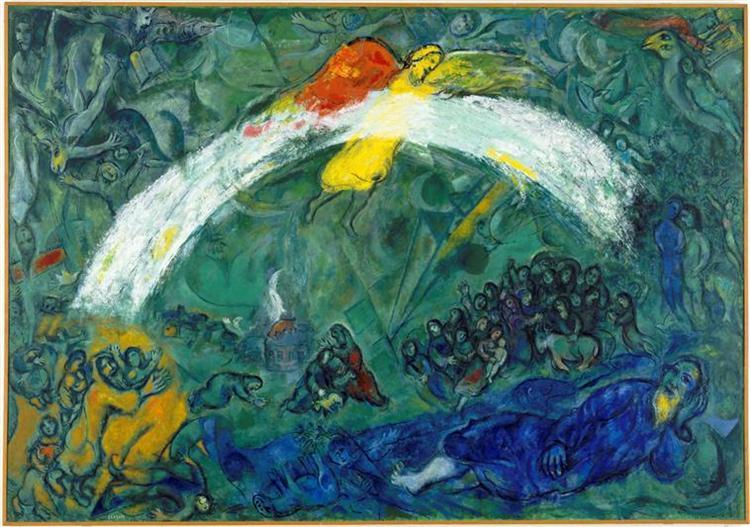 Noah and the Rainbow, 1966 - Marc Chagall