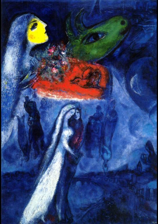The Colorful Pastel Chagall Afbeeldingen