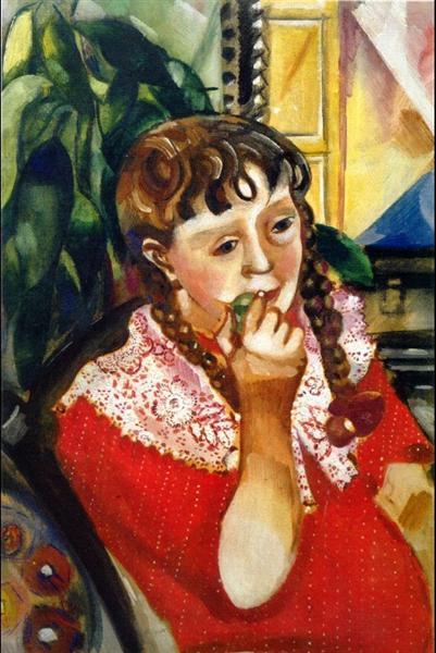 Portrait of Sister Maryasinka, 1914 - Marc Chagall
